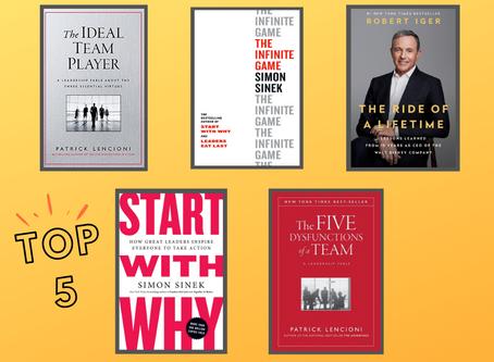 Top 5 leadership books
