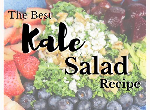 Kale Salad Recipe + Kitchen Essentials
