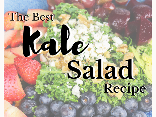 Kale Salad Recipe + Kitchen Essentials