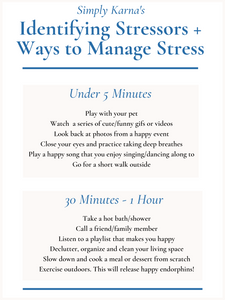 simple ways to lower stress, stress coping mechanisms