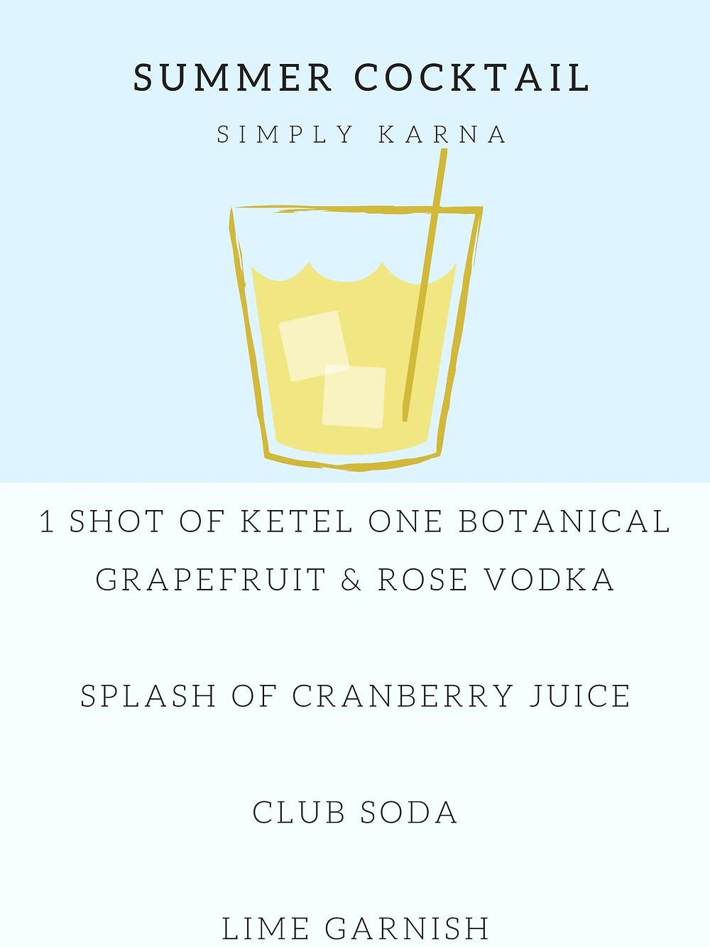 Drink Recipe for Girls Weekend Getaway in Temecula