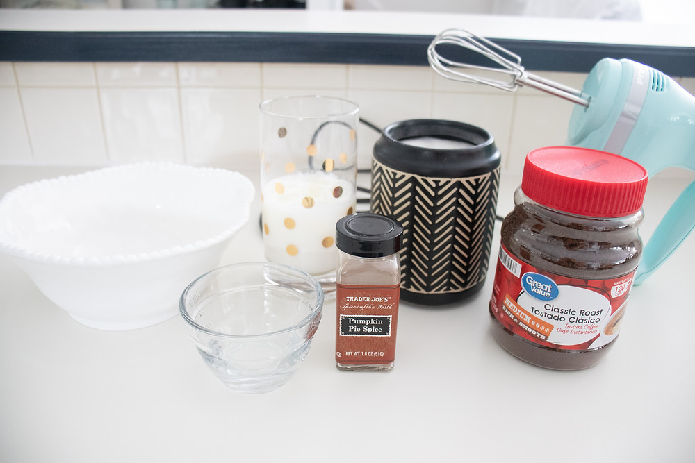 whipped coffee ingredients