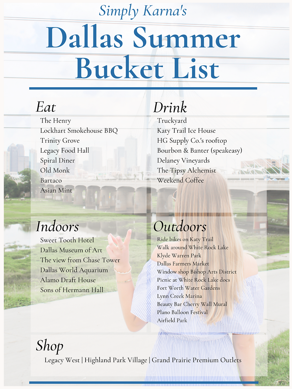 List of things to do in Dallas