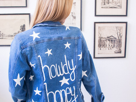 How to Paint Denim