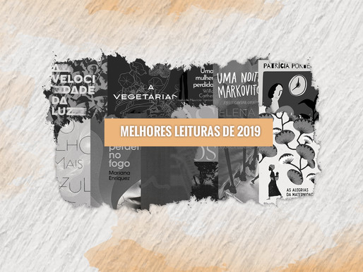 MELHORES LEITURAS DE 2019
