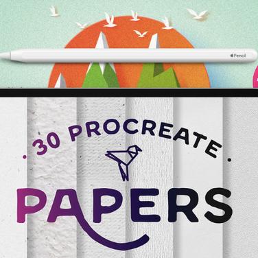 Procreate Paper Brushes