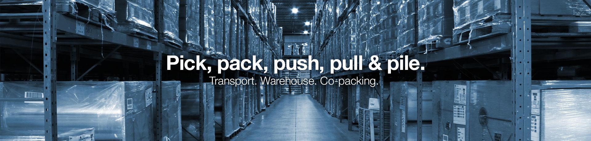 Canadian Logistics, Logistics