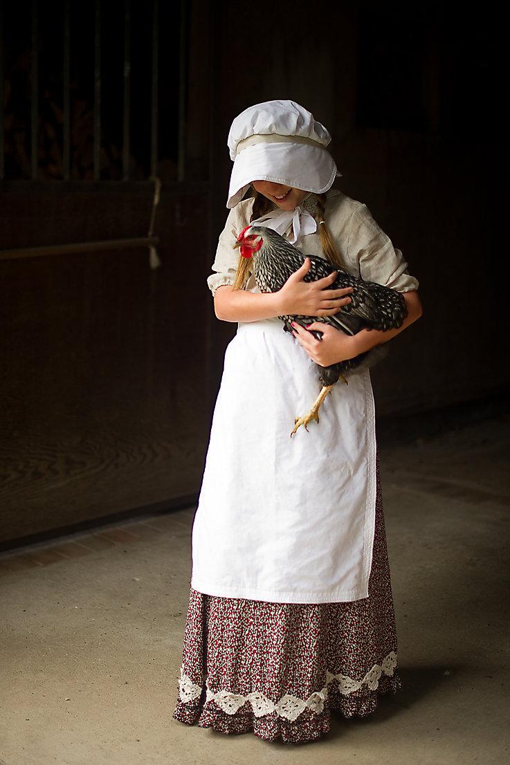 Pioneer Girl Costume