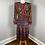 Thumbnail: 1980's R.O.Y.G.B.I.V. Pleated Dress