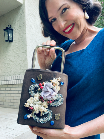 Thrifted Antique Purse