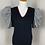 Thumbnail: Ann Wi Designer Vintage Poof Sleeve Sweater Top
