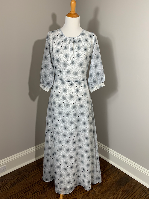 Vintage 1970's Fogh Dress (made in Denmark)