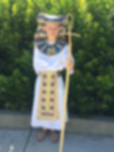 Upcycle Eyptian Pharoah Costume