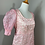 Thumbnail: Vintage 1970's Embroidered Organza Dress