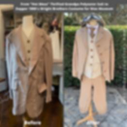 DIY Wilbur Wright Costume Wax Museum