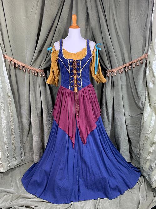 Festive Renaissance Dress