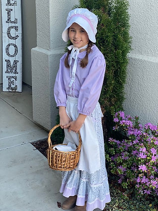 DIY Pioneer Girl Costume