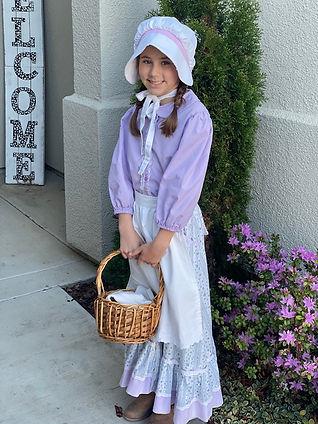DIY Pioneer Girl Costume