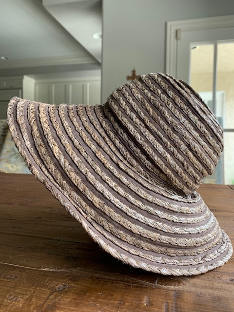 """Propped Up Hat """"Before"""""""