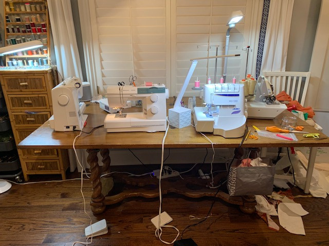 picture of my sewing room