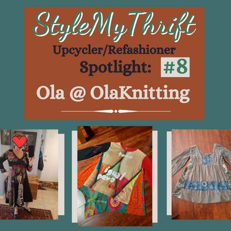 Upcycler Spotlight #8: Olaknitting Art--Vancouver, BC, Canada