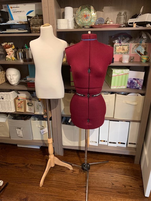Child Size Mannequin and XS Women's Mannequin