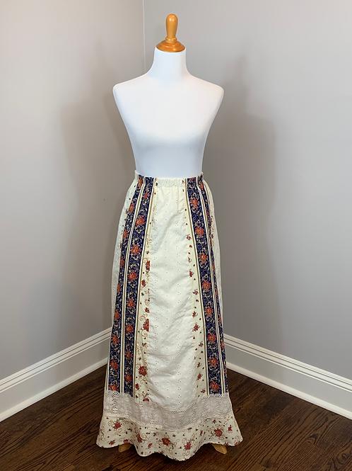 Vintage 70's Tumbleweeds Brand Hippie, Boho Skirt