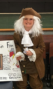 Upcycle Ben Franklin Costume