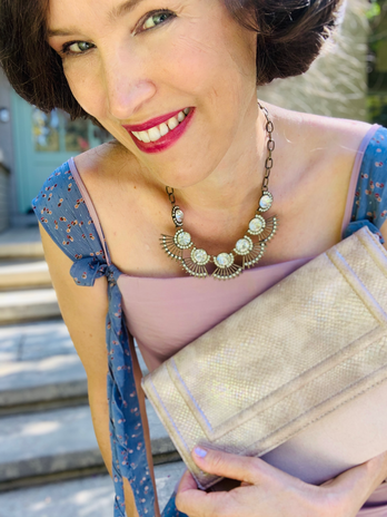 Upcycle 1920's, Great Gatsby, Ms. Fisher Dress