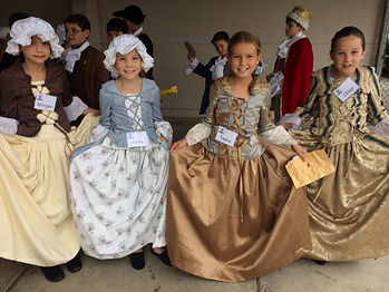 Upcycle American Colonial Girls Costumes