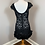 Thumbnail: Shift Overlay Lace Dress with Feathered Hem