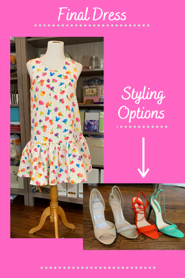 Choosing Which Pair of Shoes To Refashion Into Festive Fun!