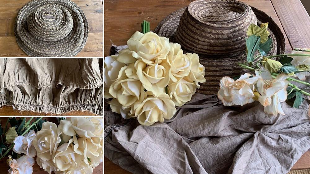 Elements of a Victorian Bonnet