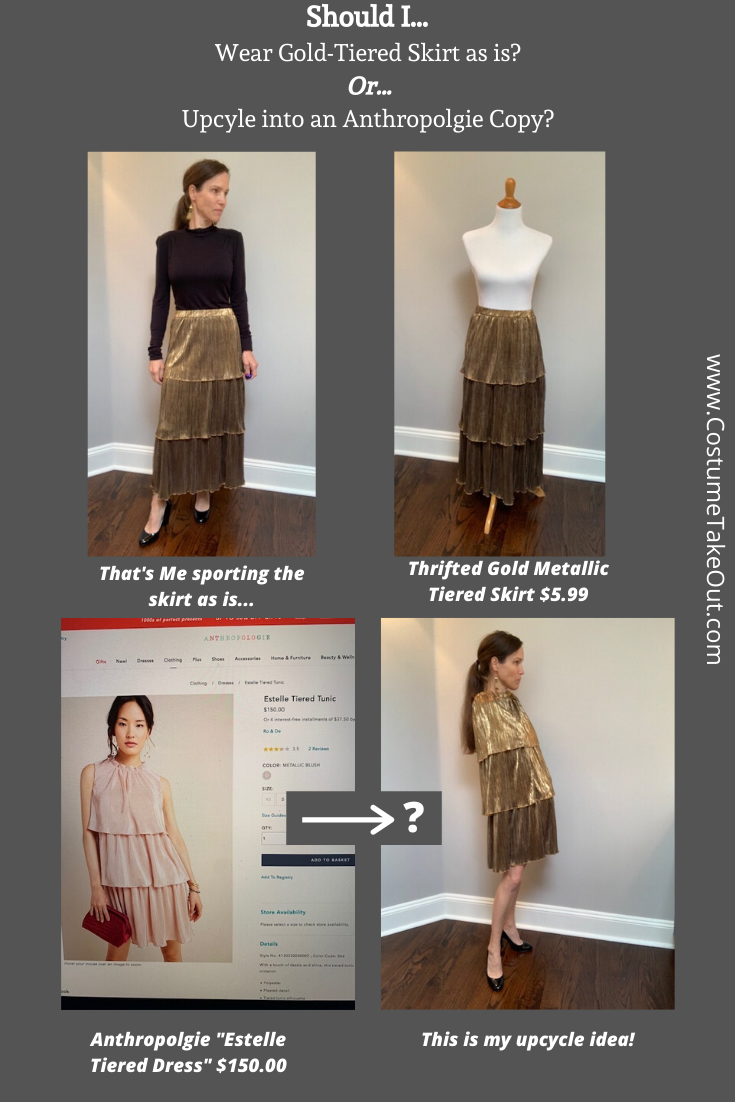 "Pin ""Should I Upcycle a Thrifted Skirt?"""