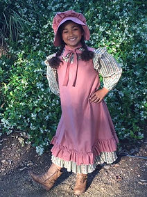 Upcycle Pioneer Girl Costume