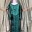 Thumbnail: Velvet Green Medieval Dress
