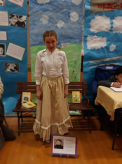 UpCycle Laura Ingalls Wilder Costume