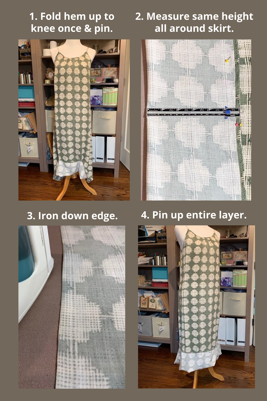 Create 1st Ruffle Layer Strip