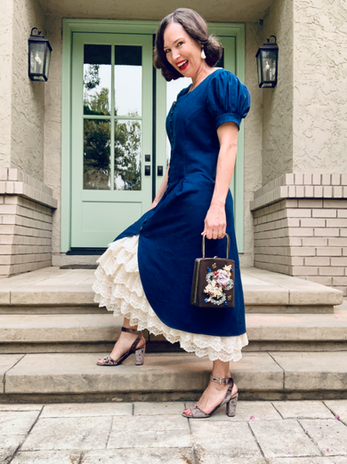 Upcycled Steam-Punk & Victorian Style Inspired Dress