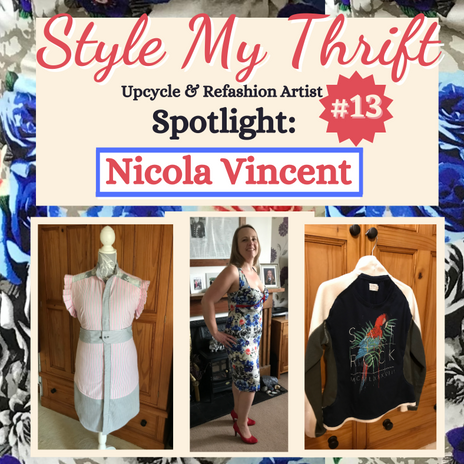 Upcycler Spotlight #13: Nicola Vincent--Exmouth, Devon-UK