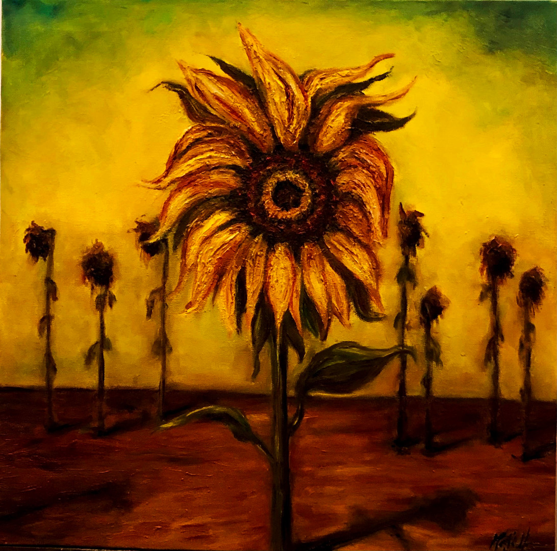 Van Gogh, The Sunflower