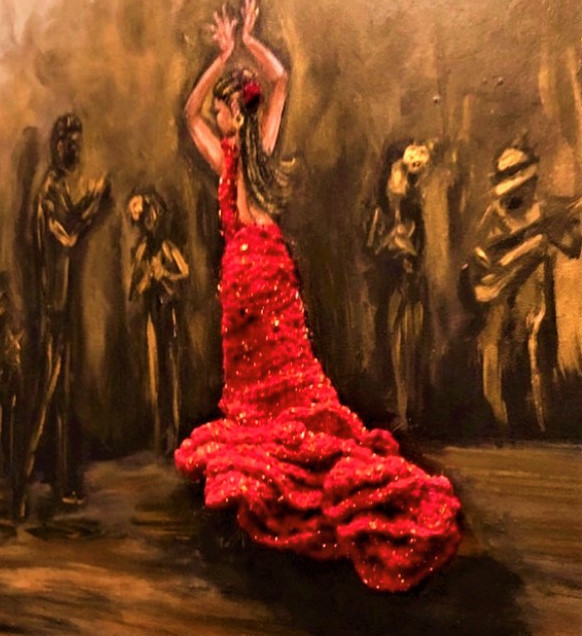 Mixed Media Spanish Dancer.jpg