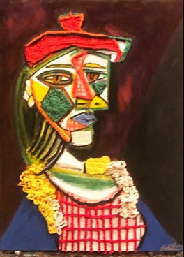 Mixed Media Picasso Rendition