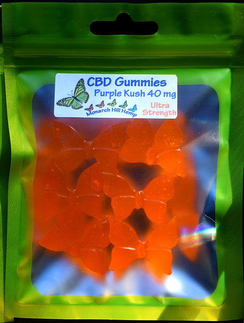 Gummies 40 mg 6 pc Ultra Strength
