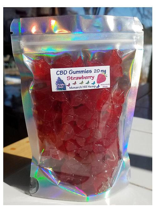 30 pc CBD Gummies: Choose Your Flavor and CBD