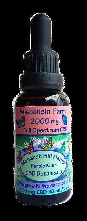 CBD Oil 2000 mg