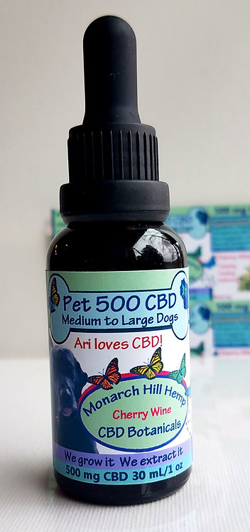 Pet CBD 500 for Medium to Large Dogs 11 to 49 lbs
