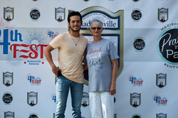 Laine Hardy Step and Repeat 275