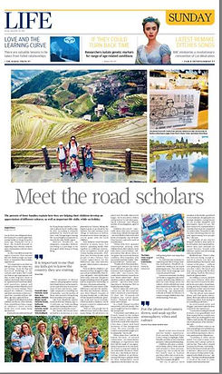 Enjoy Citizz's contribution to South China Morning article over tips to travel with kids