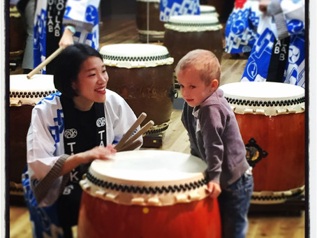Taiko in Tokyo – Japanese drumming lessons your family will love.